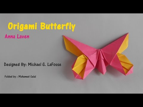 Origami Butterfly - Anna Laven by Michael G LaFosse