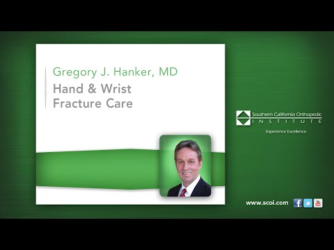 Hand and Wrist Fracture Care