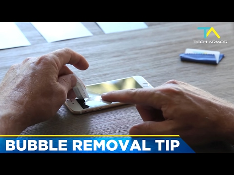 Tech Armor Bubble Removal Tip - Screen Protectors