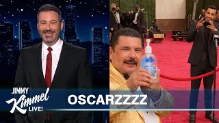 Jimmy Kimmel on the 2021 Oscars \u0026 Guillermo on the Red Carpet!
