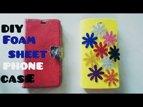 How to make Phone Case | Foam sheet flip cover | DIY Best out-of waste