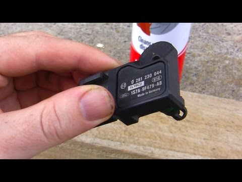 How to: Clean & replace T-MAP sensor Ford Duratec / Mazda L (Mondeo, Focus, Ranger, Mazda)
