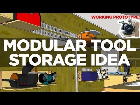 Prototyping a Modular Tool Storage Idea