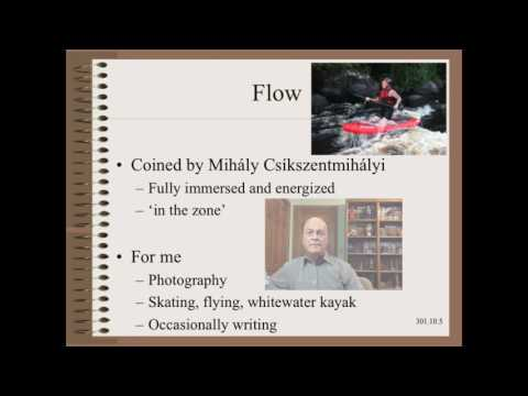 Web301.10 - Engineer's Life - Focus and Flow