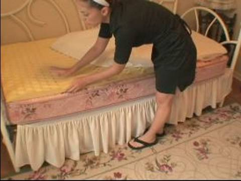 How to Make a Bed : How to Put a Mattress Pad on the Bed