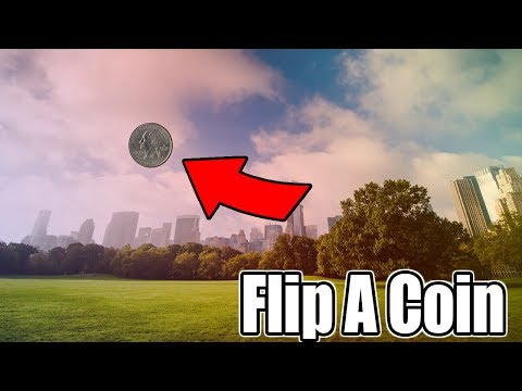 Flip A Coin To Change My Name!! Heads Or Tails? I Decided To Keep ReZo!!