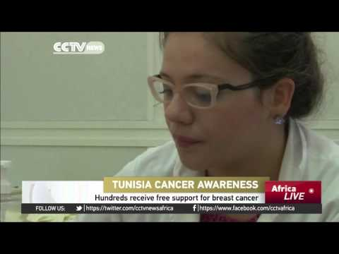Tunisians receive free breast cancer screening