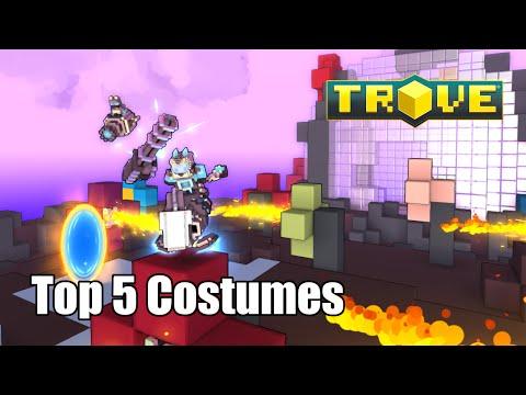 Trove Top 5 Costumes