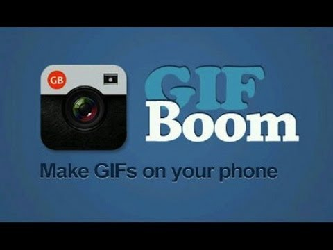 Gifboom App for iPhone and Android