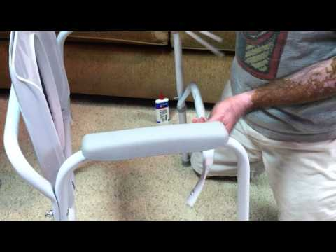 COMMODE CHAIR ASSEMBLY