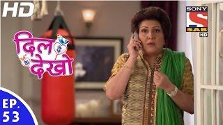 Dil Deke Dekho - दिल देके देखो - Episode 53 - 30th December, 2016