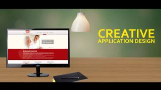 Affordable Website with Creative Application Design