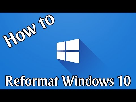 How To Reformat Windows 10 | Windows 10 How To