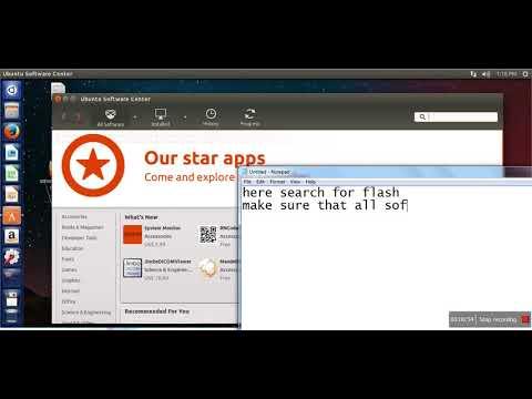 How to install Flash Player on Ubuntu