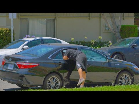 ELECTRIC BAIT CAR PRANK!!