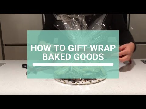 How To: gift wrap baked goods