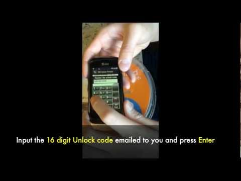 UNLOCK LG ENCORE - How to Unlock LG GT550 Encore At&T Prepaid Gophone by Unlocking Code