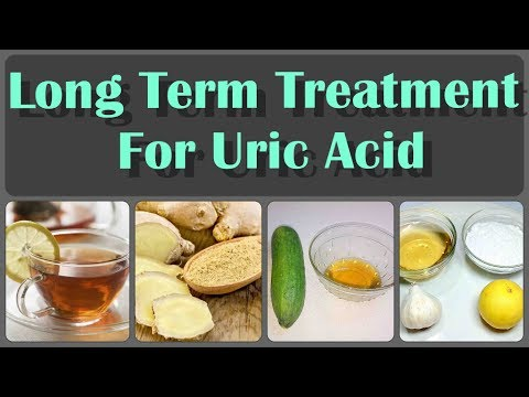 Long Term Treatment To Lower Uric Acid And Prevent Gout Attacks And Long Term Problems