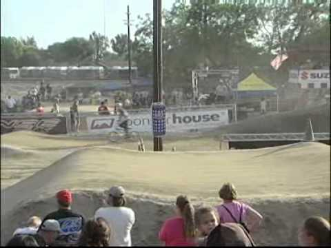 BMX Racing BEST CRASH / BLAST EVER!  over the BERM!