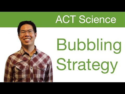 Top ACT Science Tips/Strategies - Bubbling