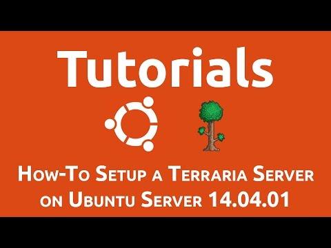 How-To Setup a Terraria Server on Ubuntu Server 14.04