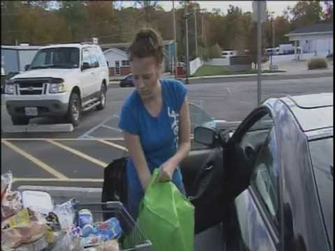 Food stamp users say benefit cut dents food budget