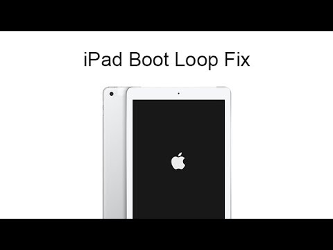 1 Click to Fix iPad Boot Loop, No Restore! No Data Loss!