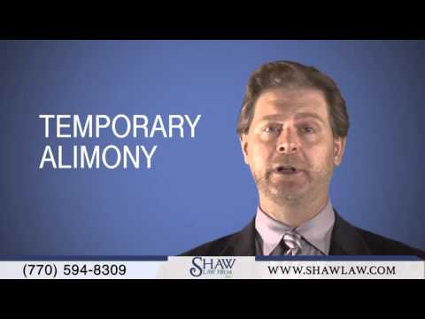 Award of Alimony, Child Support, Child Custody, Temporary and Permanent in Georgia