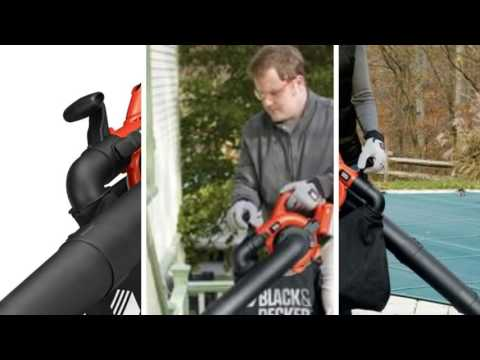 Black and Decker LSWV36 Review - Best cordless leaf blower 2016