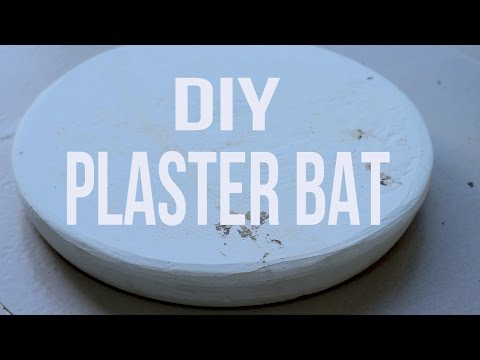 How to Make a Plaster Bat + Mixing and Casting Plaster