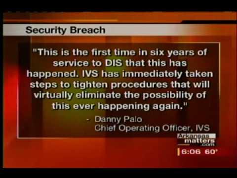 Background Check Identity Theft Arkansas Data Breach