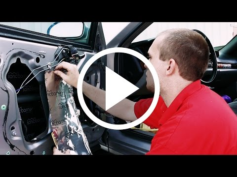 How to Install Sonic Barrier in your Car!