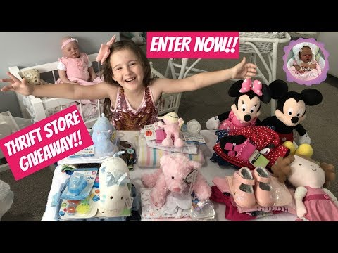 THRIFT STORE GIVEAWAY!! ENTER NOW!!