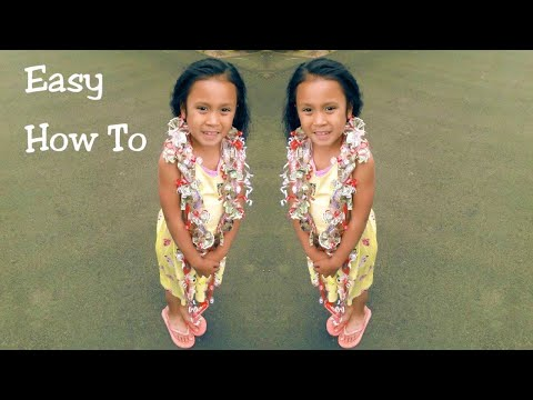 HOW TO MAKE (Easy) CANDY/MONEY LEI | D I Y | Graduation Times