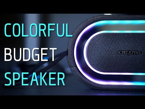 Budget RGB Speaker: Creative Halo Bluetooth Speaker Review