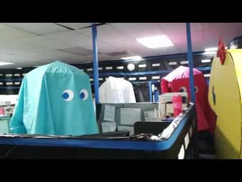 Office Halloween Pac-Man