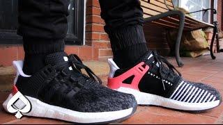adidas eqt unboxing soutenir 93 / 17 turbo rouge / / unboxing eqt sur pieds et musique djinn be1606