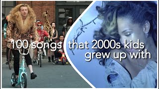 100 songs that 2000