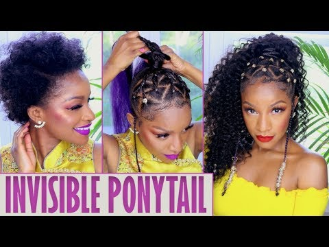 Island Vibes 🍍 Ponytail w/ Braids & Beads + HAIR GIVEAWAY!