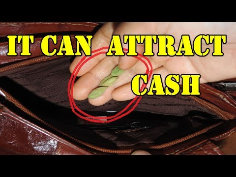 IT CAN ATTRACT CASH
