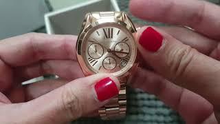 a59ee56f668 Michael Kors Mini Bradshaw Rose-Gold Ton... 7 months ago