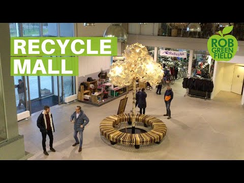 World's First Recycle Mall- ReTuna in Sweden