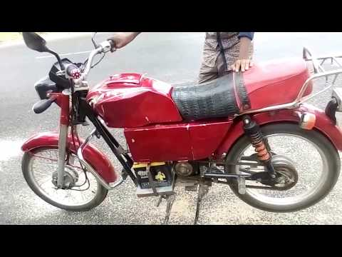 Homemade Electric motorcycle ebike-2017| Rasel homemade creator