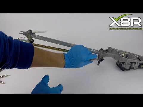 Fits Nissan Qashqai J10 2007-2015 Windscreen Wiper Motor Linkage Arms Rod Arm Install Instructions