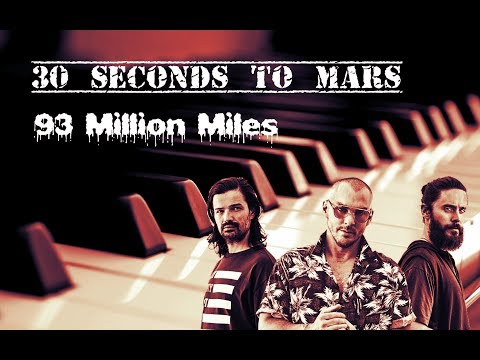 30 Seconds To Mars 93 Million Miles Piano Cover