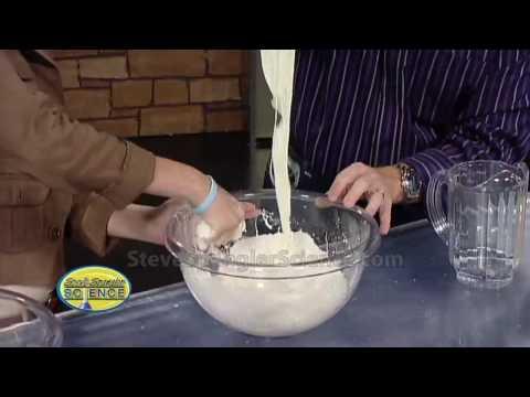 Cornstarch Goo - Cool Science Experiment