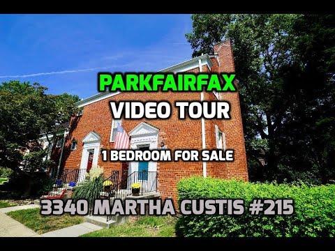 Parkfairfax Video Tour | 3340 Martha Custis #215 Alexandria, VA | 1 Bedroom for Sale
