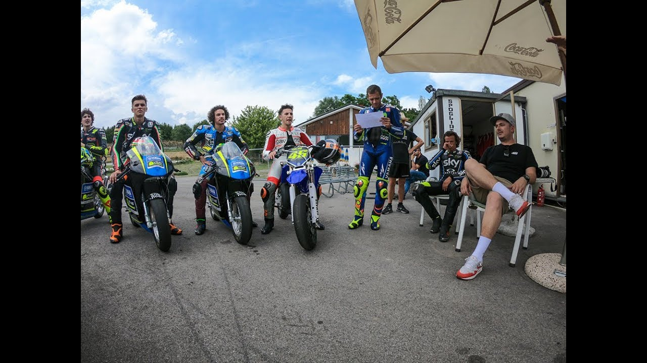 Training with the VR46 Riders Academy - RMU