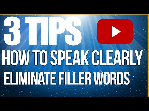 How to sound more articulate by eliminating filler words