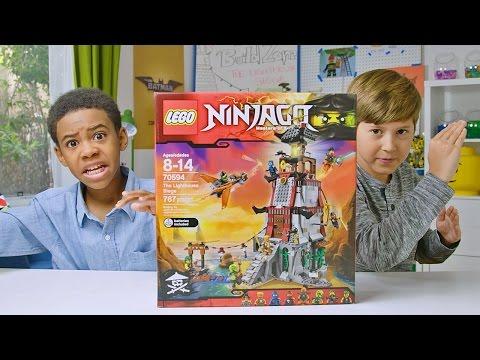 NINJAGO - The Lighthouse Siege - LEGO Build Zone - Season 4 Episode 4